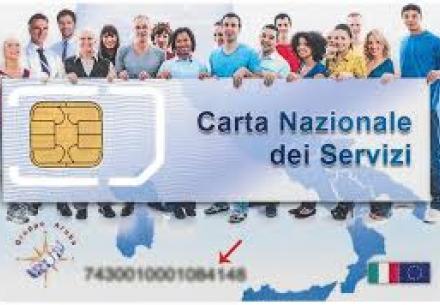 Emissione Carta Nazione dei Servizi